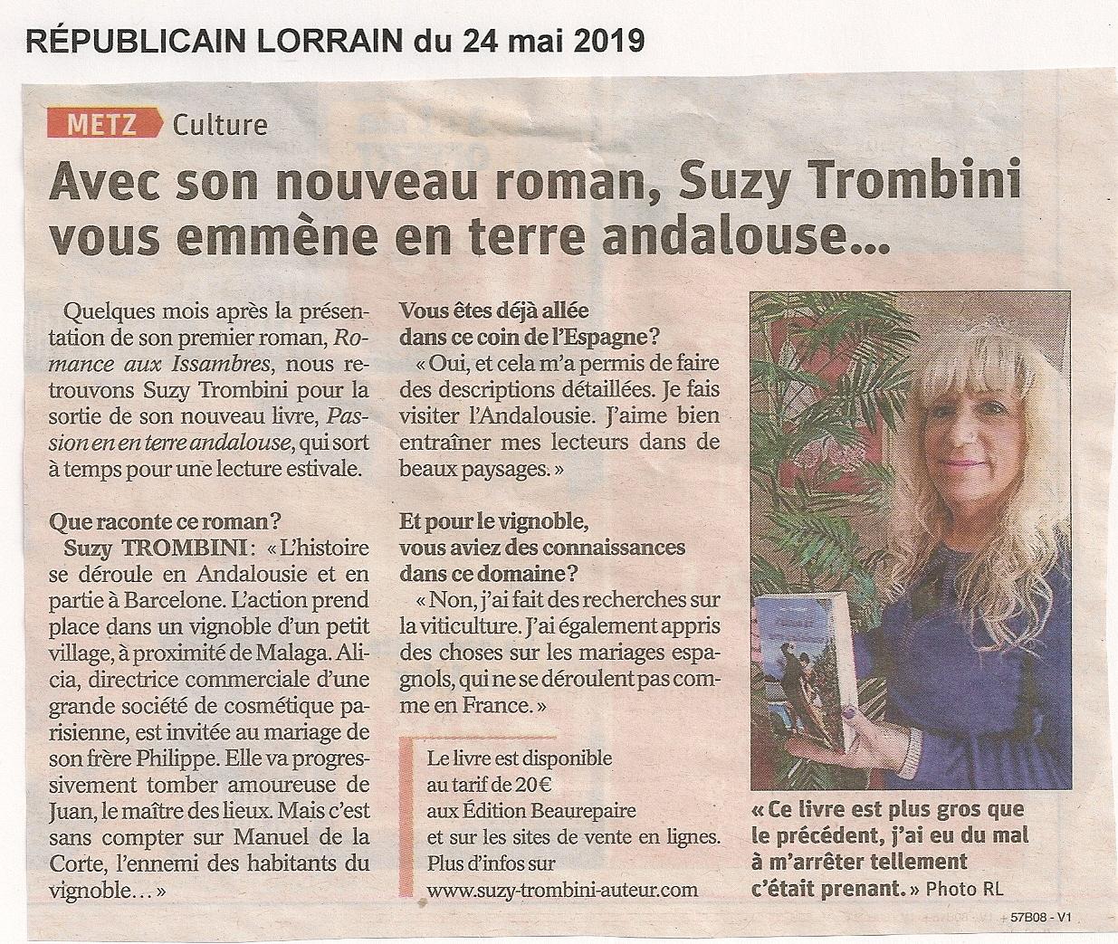 Article rl 24 5 2019 suzy trombini