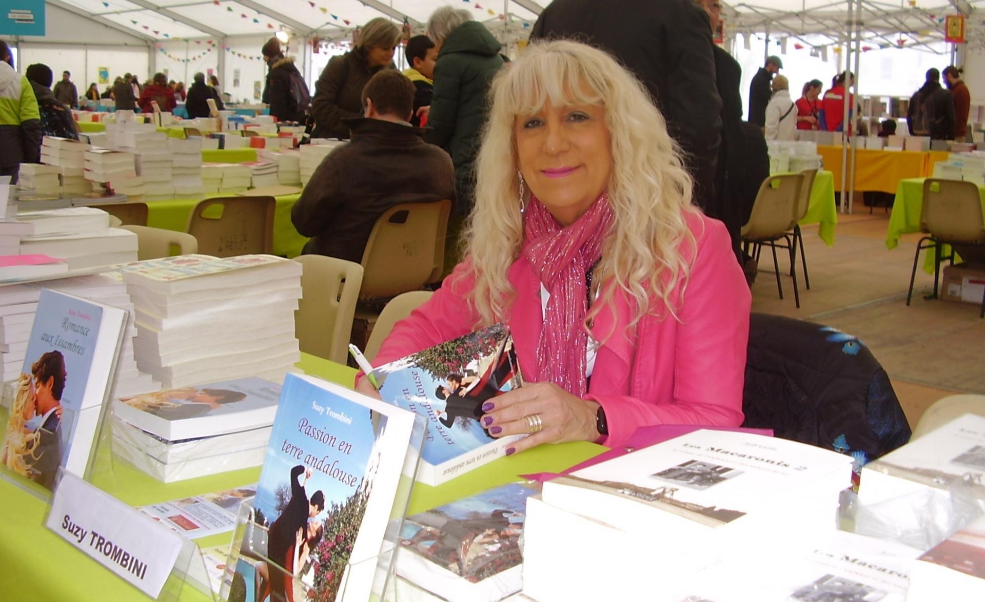Suzy Trombini Auteure de romans